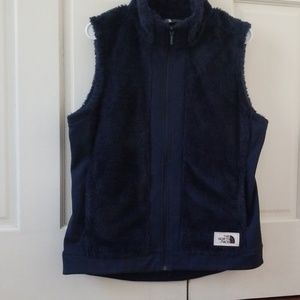 The North Face navy vest